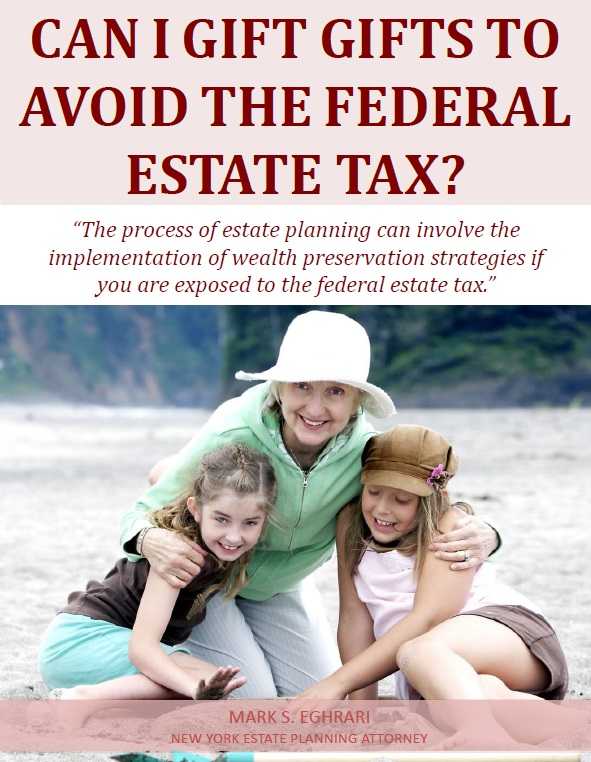 Can I Gift Gifts to Avoid the Federal Estate Tax